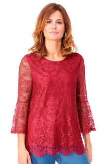 Euro Edit Lace Top - 252022