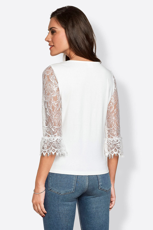 Euro Edit Lace Top