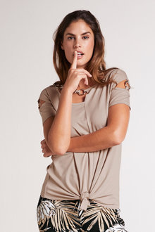 Heine Ring Detail Top - 252031