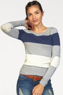 Urban Stripe Pullover - 252064
