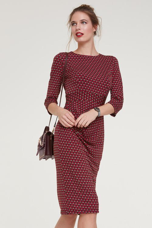 Heine Jersey Dress With Gathering