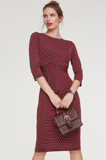 Heine Jersey Dress With Gathering - 252075