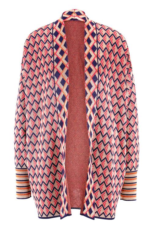 Heine Graphic Knit Cardigan