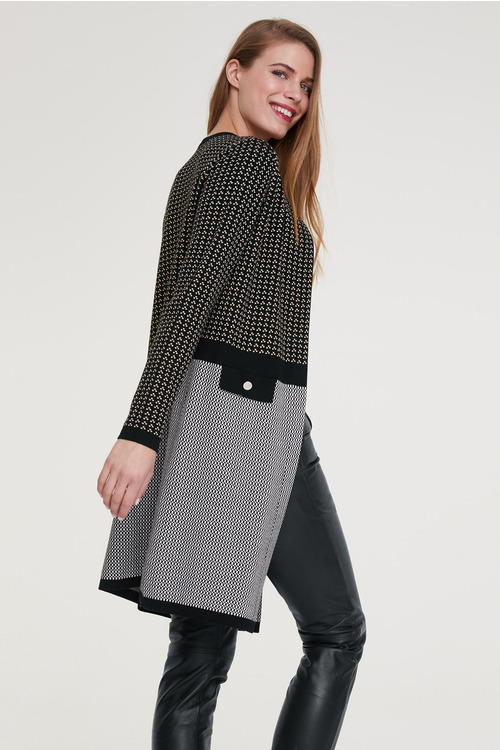 Heine Mixed Knit Jacket