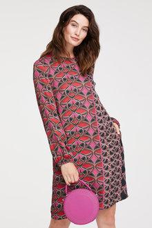 Heine Mixed Print Shift Dress - 252082
