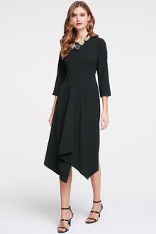 Heine Asymmetric crossover Dress - 252084
