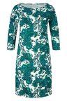 Euro Edit Paisley Pull On Dress