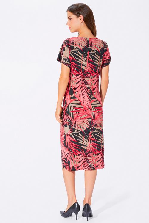 Euro Edit Printed Midi Dress