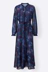 Euro Edit Long Sleeve Maxi Dress