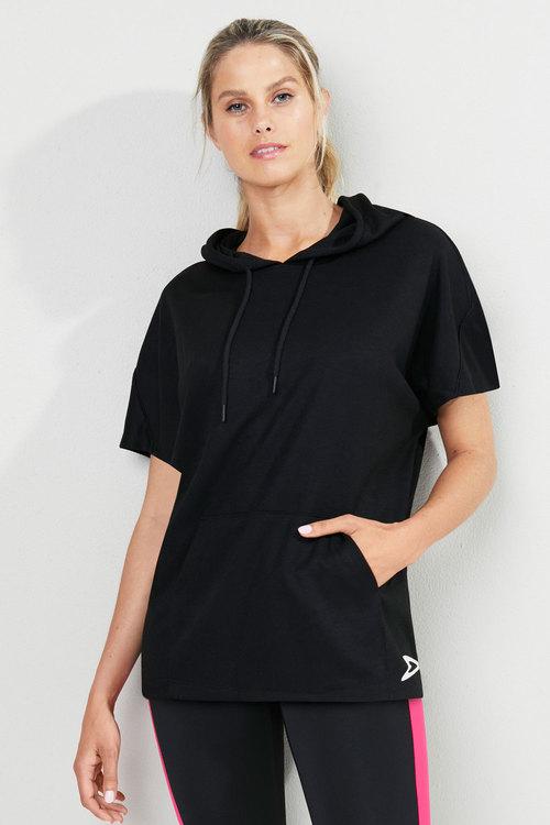 Isobar Active Short Sleeve Hoodie