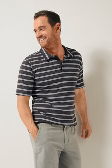 Southcape Yarn Dyed Short Sleeve Polo - 252126