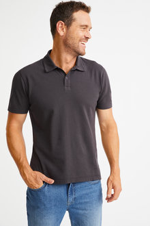 Southcape Pique Washed Polo - 252128