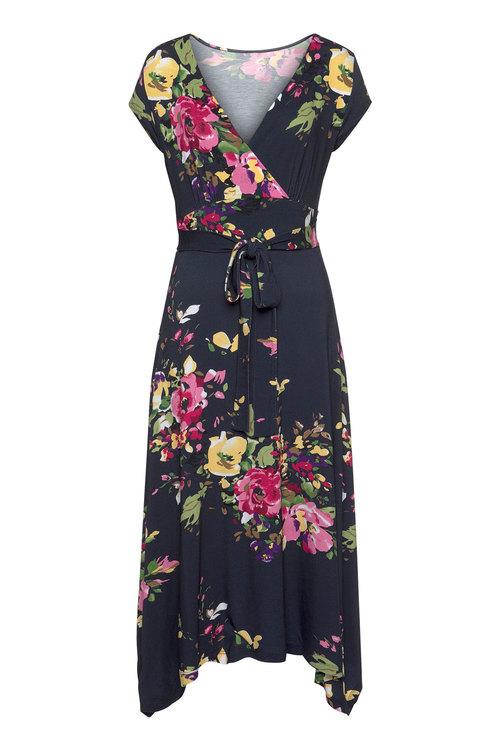 Urban Crossover Midi Dress