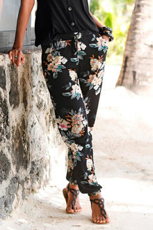 Urban Printed Beach Pant - 252141