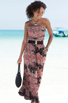 Urban Printed Beach Maxi Dress - 252142