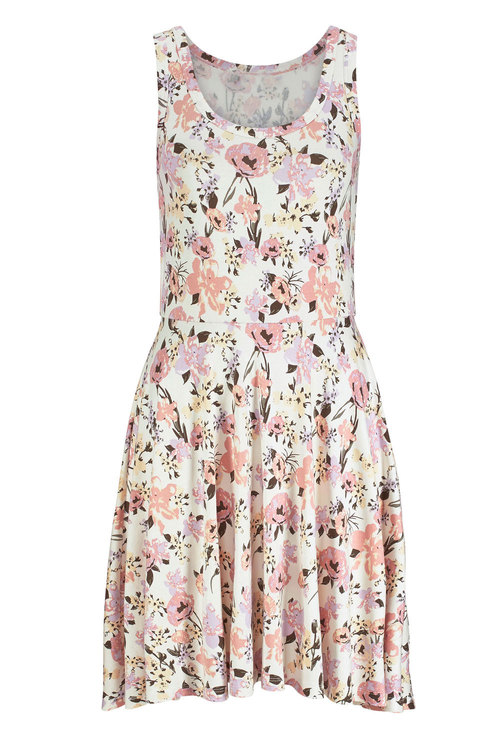 Urban Printed Fit & Flare Dress