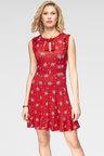 Urban Short Sleeve Print Dress