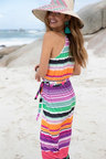 Urban Stripe Beach Dress