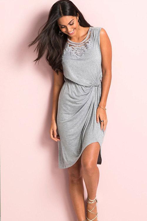 Urban Lace Insert Dress