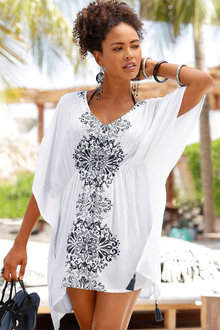 Urban Printed Kaftan Top - 252161