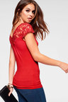 Urban Lace Neck Top