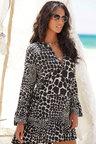 Urban Animal Print Beach Dress