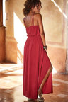 Urban Neck Tie Maxi Dress