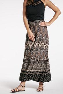 Heine Printed Maxi Skirt - 252178