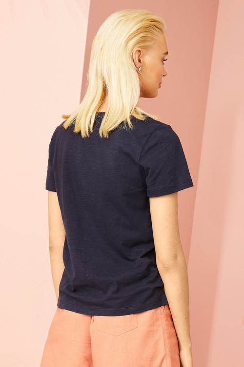Emerge Organic Cotton V Neck Tee