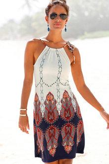 Urban Printed Beach Dress - 252210