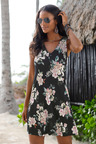 Urban Button Beach Dress