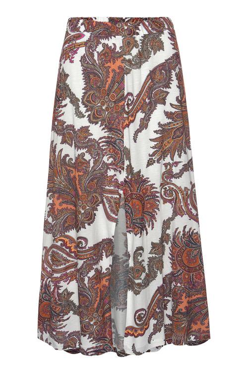 Urban Paisley Print Skirt