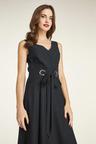 Heine Black Sleeveless Evening Dress