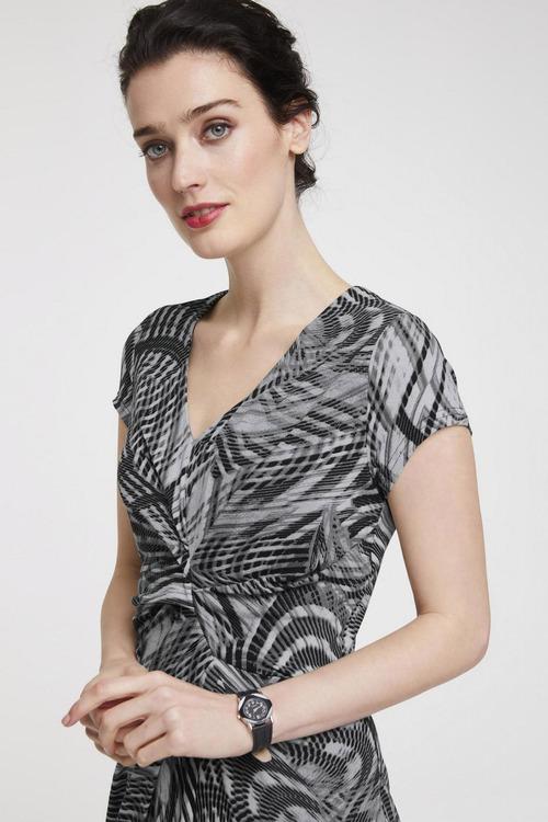 Heine Print Short Sleeve Dress