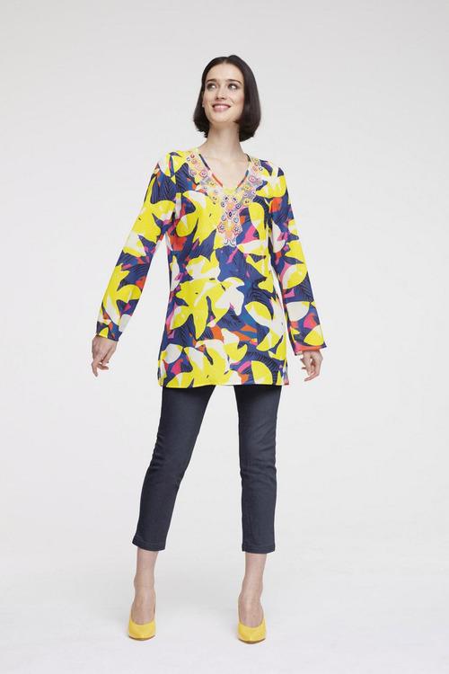 Heine Long Sleeve Print Tunic