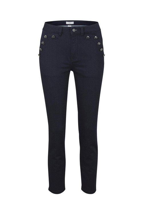 Detailed Push Up Jeans