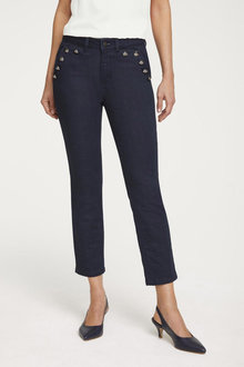 Detailed Push Up Jeans - 252259