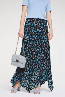 Heine Flower Print Full Length Skirt - 252260
