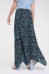 Heine Flower Print Full Length Skirt