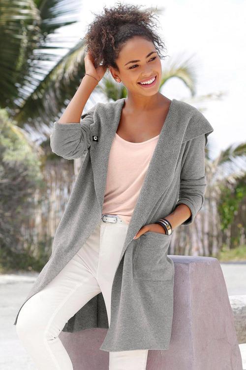 Urban Hooded Longline Jacket