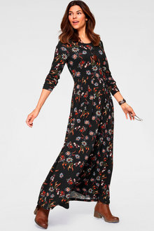 Urban Printed Maxi Dress - 252264