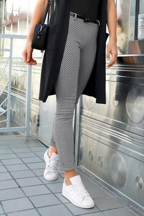 Urban Patterned Knit Pant