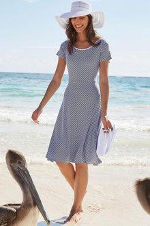 Heine Printed Jersey Dress - 252271