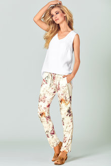 Heine Relaxed Floral Pants - 252274