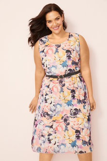 Plus Size - Sara Dress & Jacket - 252285