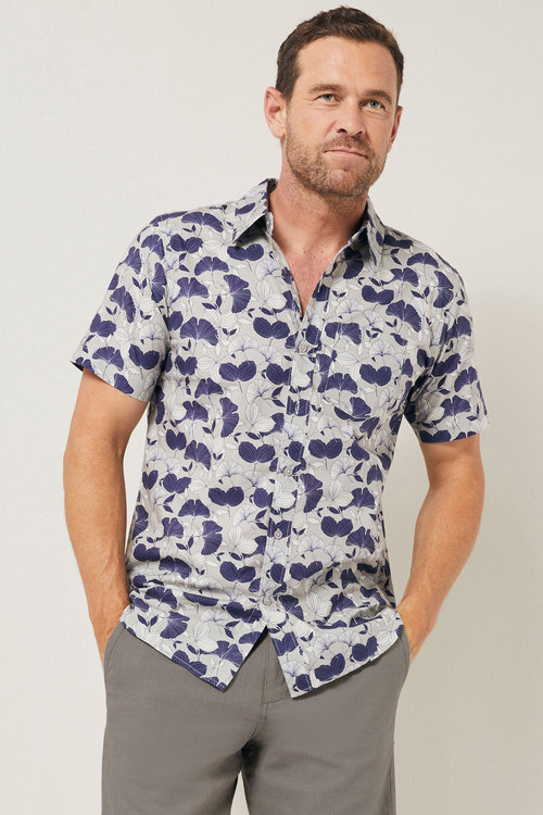 Southcape Printed Short Sleeve Shirt