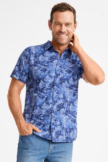 Southcape Printed Short Sleeve Shirt - 252302