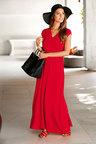 Euro Edit Greek Maxi Dress