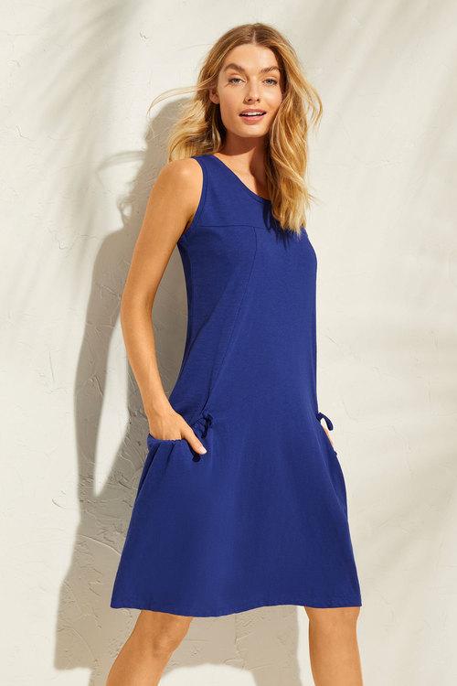 Capture Cotton Pocket Detail Dress
