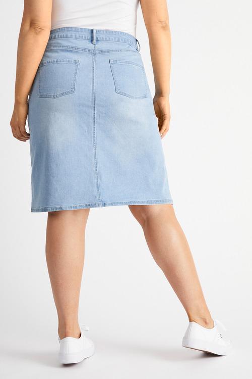 Sara Denim skirt